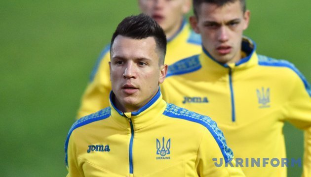 Коноплянка і Бутко повернулися в загальну групу збірної України з футболу