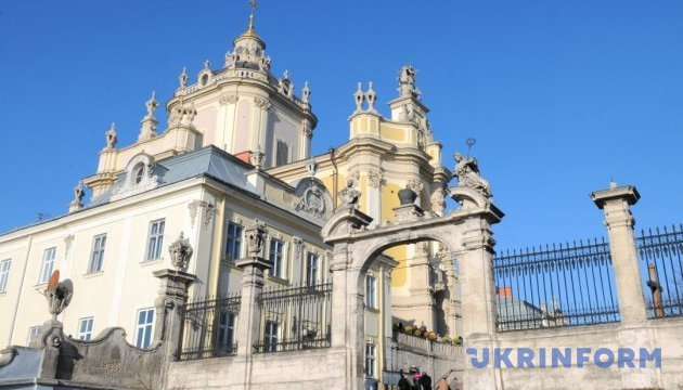Реставрация львовского собора Святого Юра будет стоить 12 миллионов