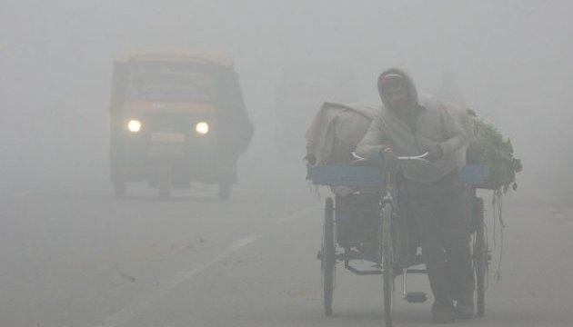 У столиці Індії через смог оголосили надзвичайну ситуацію