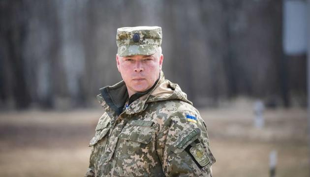 Президент привітав генерала Забродського з призначенням командувачем сил АТО