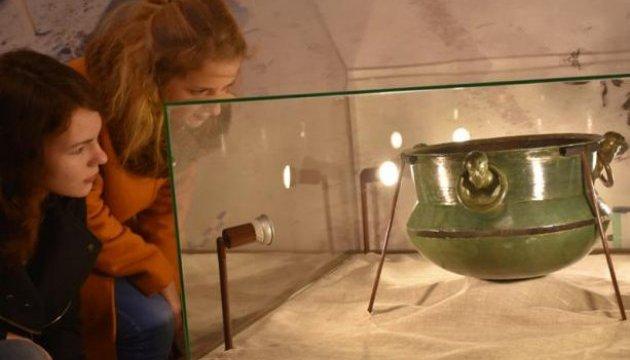 На Львівщині презентували археологічні знахідки з могильника германських племен