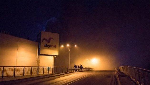 У Києві загорівся гіпермаркет у Sky Mall