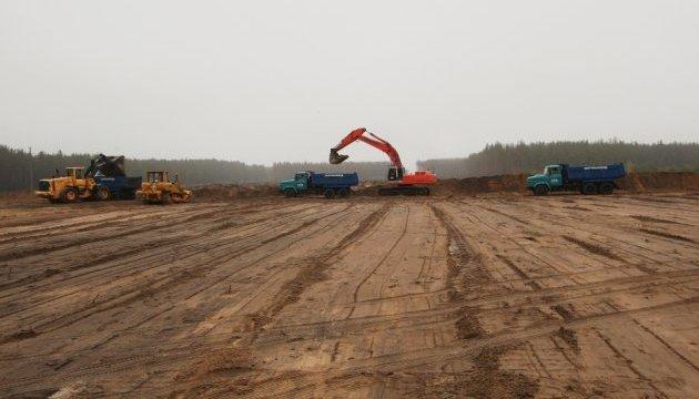 У зоні ЧАЕС почали будувати централізоване  сховище відпрацьованого ядерного палива