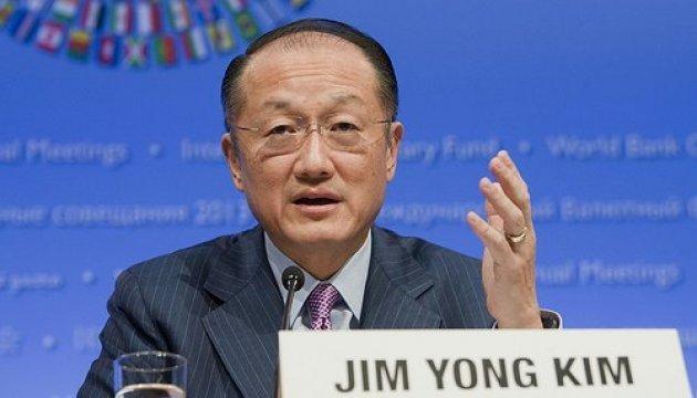 Президент Групи Світового банку у неділю зустрінеться з Порошенком