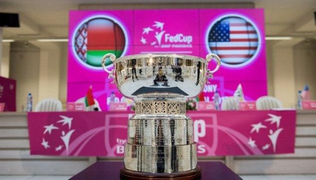 Пройшло жеребкування тенісного Кубка Федерації Білорусь - США