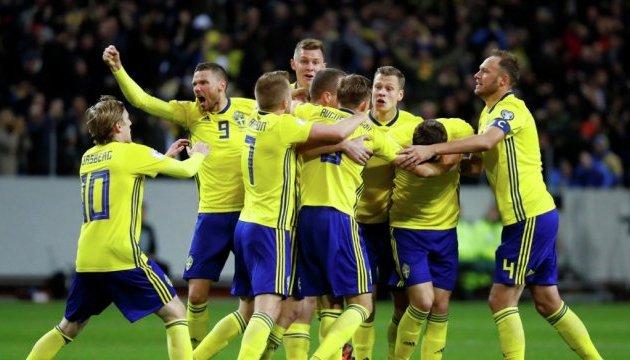 Швеція виграла у Італії перший