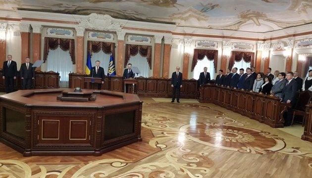 Порошенко: Верховний суд - нова сторінка в історії українського правосуддя