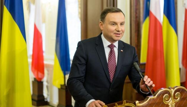 Дуда хочет диалога с Украиной, потому что есть некоторые