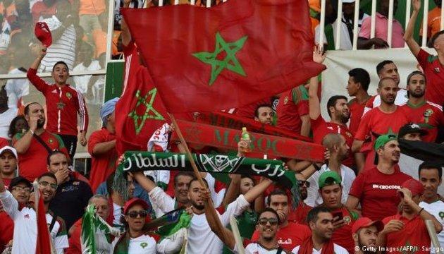 У Брюсселі фани збірної Марокко святкували перемогу: били вітрини та спалили авто