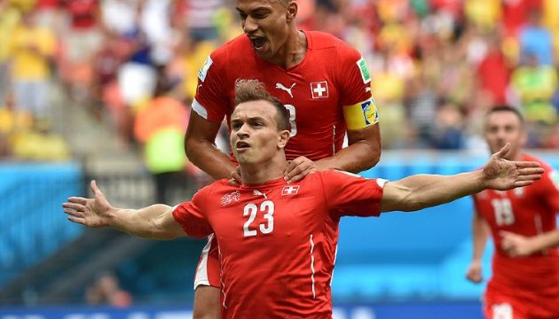 Швейцарія вийшла на чемпіонат світу-2018 з футболу