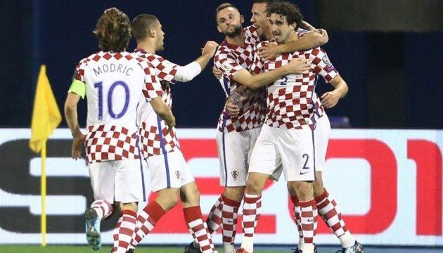 Хорватия отобралась на чемпионат мира-2018 по футболу