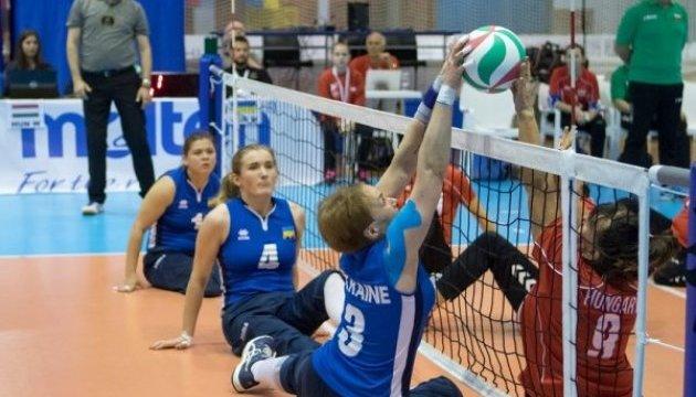 Украинские волейбольные паралимпийские сборные - вице-чемпионы Европы