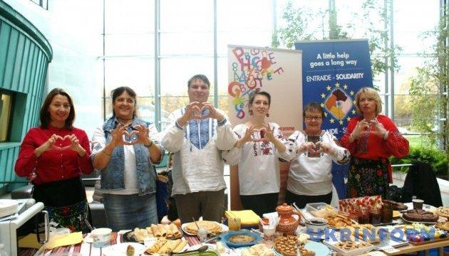 Млинці для Ради Європи: українці Страсбурга провели благодійну акцію