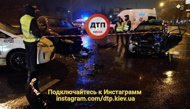 Полицейского чиновника, который спровоцировал ДТП в столице, задержали - Шкиряк