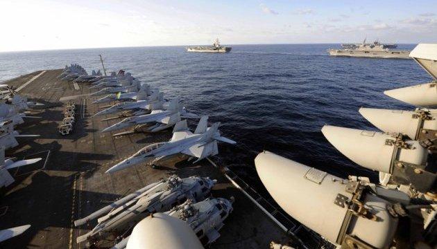 Атомные авианосцы США подошли к берегам КНДР