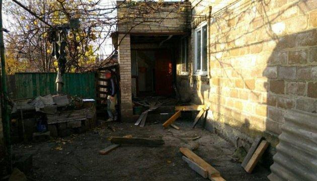 Боевики накрыли из минометов жилые дома в Марьинке
