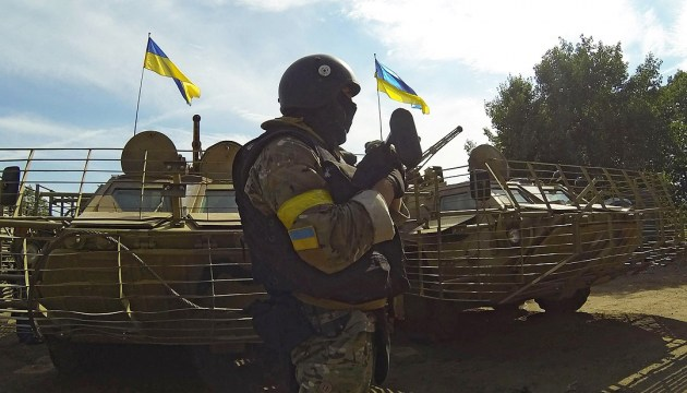 One Ukrainian soldier injured in Donbas over past day