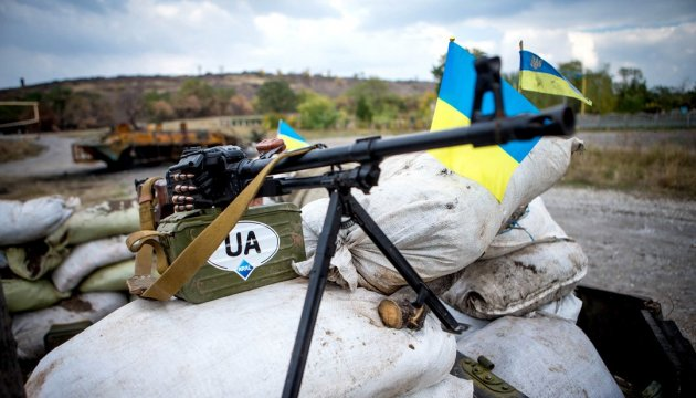 Militants launched 22 attacks on Ukrainian troops in Donbas in last day