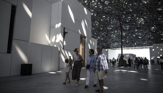Як в Абу-Дабі Лувр відкривали