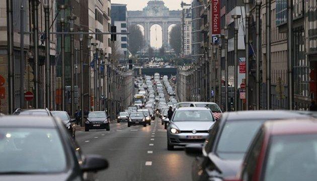 Брюссель хотят ограничить в скорости до 30 км/ч