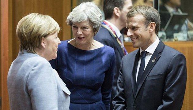 Макрон, Мей та Меркель обговорять сьогодні справу Скрипаля