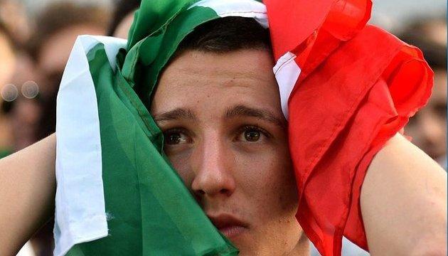 Футбол: невихід збірної Італії на чемпіонат світу завдасть країні €1 млрд збитків