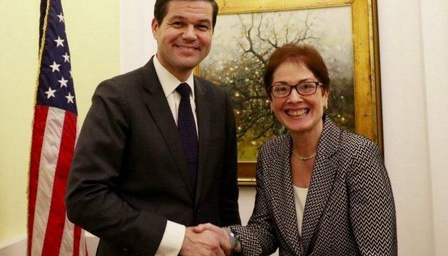 В Украину прибыл помощник госсекретаря США