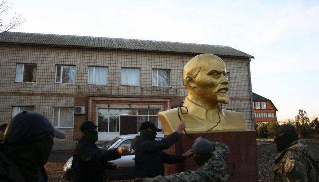 У Шабо демонтували прихований від декомунізації пам'ятник Леніну