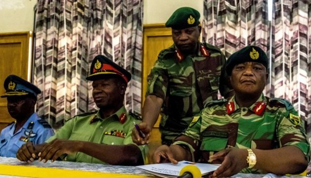 Путч в Зимбабве признали законным