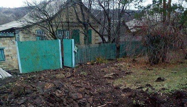 Российские оккупанты обстреляли жилые дома на востоке Украины