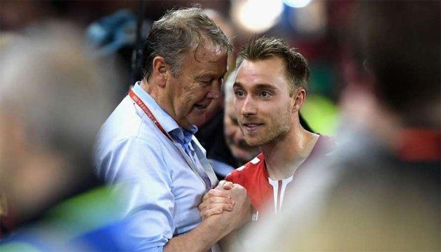 Футбол: хет-трик Эриксена помог Дании пробиться на чемпионат мира