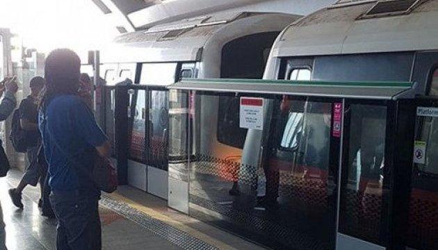 В сингапурском метро столкнулись поезда, 25 пострадавших