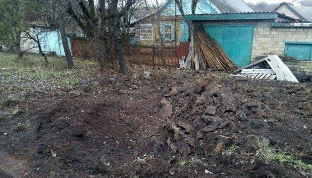 Наблюдателям ОБСЕ показали последствия обстрела боевиками Зайцево