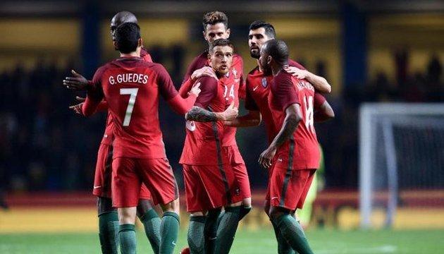 Футбол: Антунеш отличился курьезным голом за сборную Португалии