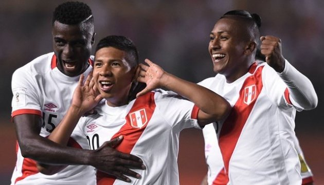 Збірна Перу стала останнім учасником чемпіонату світу-2018 з футболу