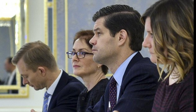 Assistant Secretary of State Wess Mitchell begins visit to Ukraine