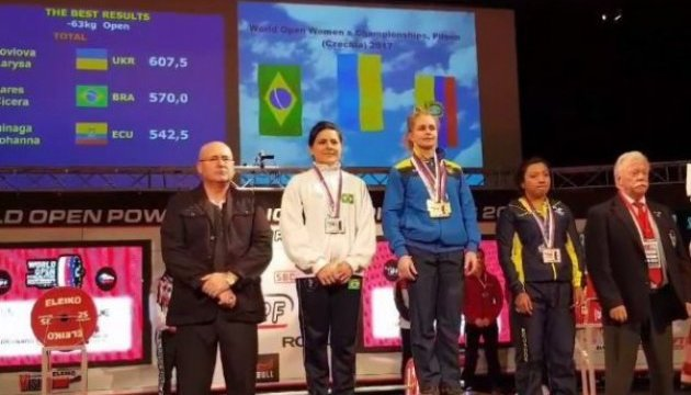 Украинская пауерлифтерка Лариса Соловьева подтвердила титул лучшей в мире