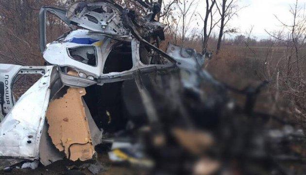 Подрыв полицейского авто квалифицировали как теракт