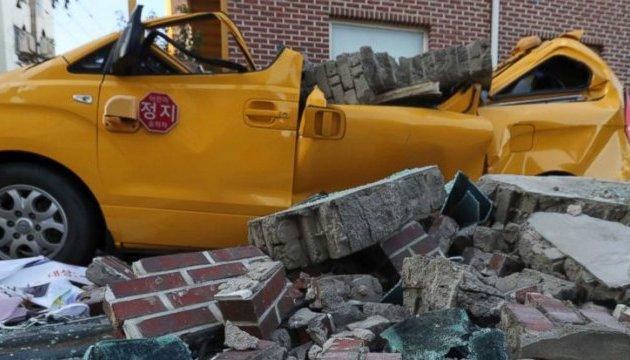 Землетрясение в Корее: 1,5 тысячи человек остались без крыши над головой
