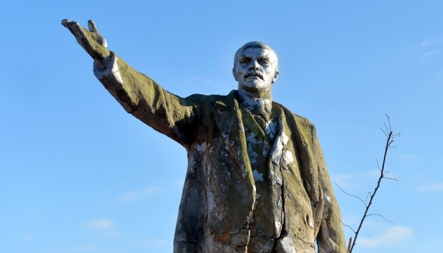 Институт национальной памяти требует снести памятники Ленину в Одесской области