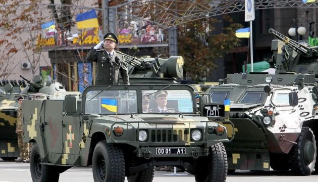 Poltorak: Auf Unabhängigkeitsparade werden 15 ausländische Partner anwesend sein