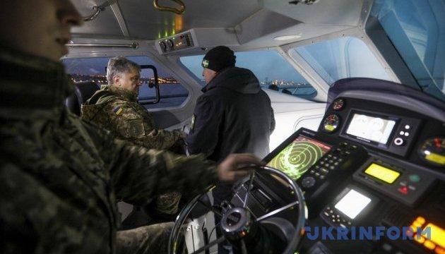 Україна нарощує сили для захисту від вторгнення з Азовського моря - Порошенко