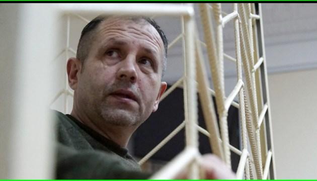 Балух голодує майже місяць: омбудсмен вимагає від РФ надати меддопомогу