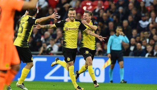 Футбол: Ярмоленко - в пятерке лучших атакующих игроков Бундеслиги