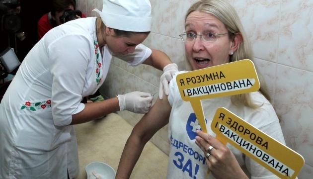 В Україні стартує кампанія вакцинації дорослих від правця та дифтерії