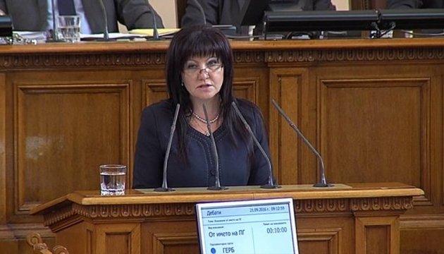Парламент Болгарії очолила жінка