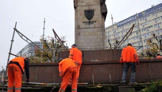 У польському Щеціні зносять радянський пам'ятник