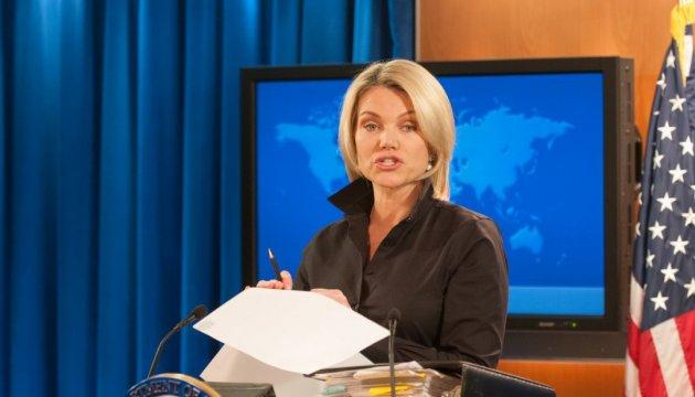 El Departamento de Estado de EE. UU. pide una vez más a la Federación Rusa que cumple con los Acuerdos de Minsk