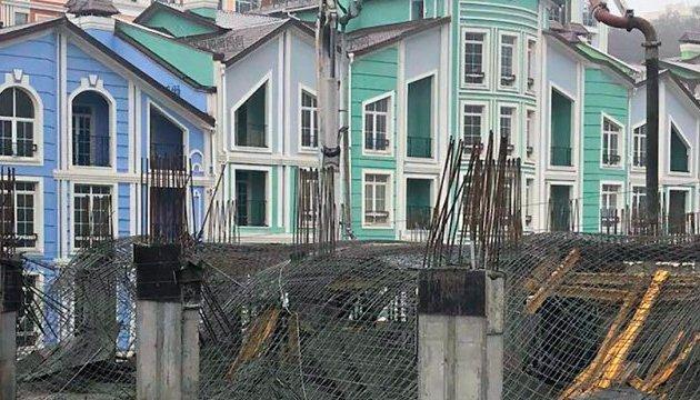 Обвал недостроя в Киеве: полиция сообщает об одном травмированном