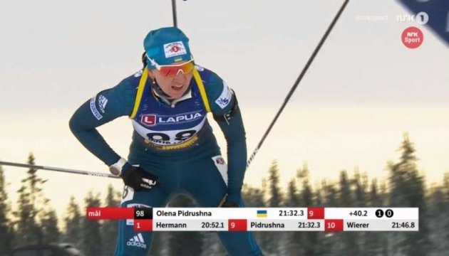 Биатлон: Журавок, Валя Семеренко и Пидгрушная вошли в топ-10 спринта в Шушене